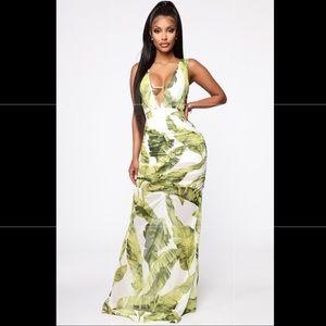 NWT Fashion Nova Maxi Dress